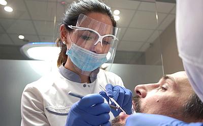 Санация ротовой полости - Стоматология «Линия Улыбки»
