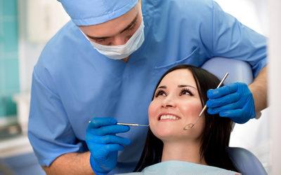 Осмотр полости рта - Стоматология «Линия Улыбки»