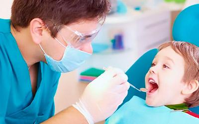 Коричневые молочные зубы - Стоматология «Линия Улыбки