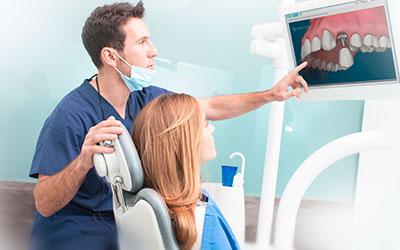 Имплант сразу после удаления зуба - Линия Улыбки